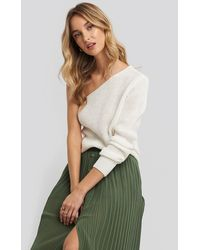 Trendyol Single Shoulder Sweater - Meerkleurig