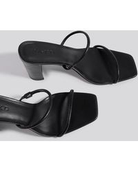 NA-KD - Shoes Elastic Strap Heels - Lyst
