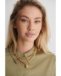 Mango Gold Ingrid Necklace - Metallic