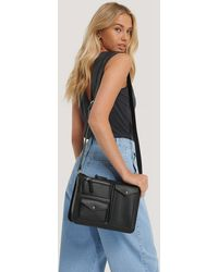 NA-KD Utility Shoulder Bag - Zwart