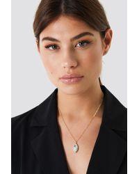 NA-KD - Diamond Drop Necklace - Lyst
