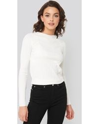 Mango Apple Sweater White - Natural