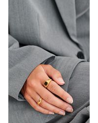 NA-KD Accessories Double Pack Ringen In Verguld Goud - Metallic