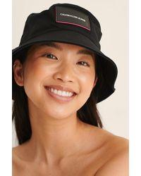 Calvin Klein Essential Bucket Hat - Zwart
