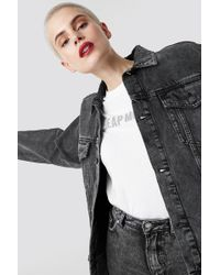Cheap Monday Zone Jacket No Slash Black Black