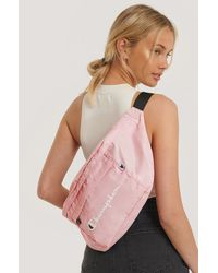 Champion Pink Shoulder Belt Bag