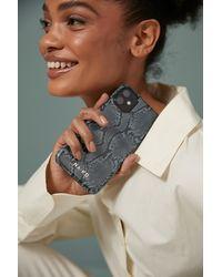 NA-KD Accessories Printed Phone Case - Grijs