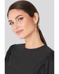 Mango Cellini Earrings - Metallic