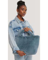NA-KD Tote Bag - Blauw