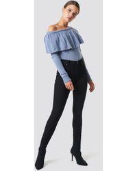Cheap Monday - Mid Spray Black Jeans - Lyst