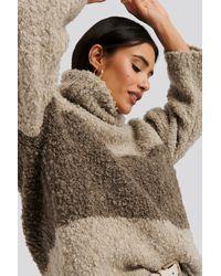 Trendyol Color Blocked Turtleneck Sweater - Meerkleurig