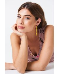NA-KD - Hanging Row Stone Earrings - Lyst