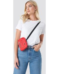 Cheap Monday Patrol Satchel Bag - Red