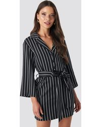 NA-KD - Striped Playsuit - Lyst