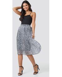 NA-KD - Midi Pleated Skirt - Lyst