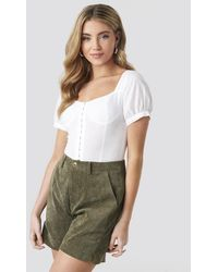 Sisters Point Ester Shorts - Green - Groen