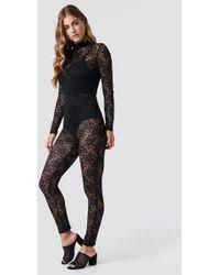 Glamorous - Laced Bodysuit - Lyst
