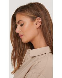 NA-KD Accessories Double Pack Sparkling Ear Cuff Set - Mettallic
