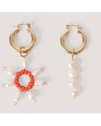 Mango Gold Bruna Earrings - Metallic