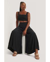 Mango Black Agosto Trousers
