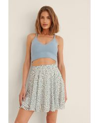 NA-KD - Multicolor Recycled Chiffon Mini Skirt - Lyst