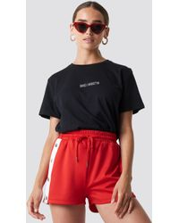 ab76790a0 Forever21. NA-KD - Bad Habits Oversized Tee Black - Lyst