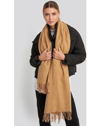 NA-KD Accessories Light Wool Blend Scarf - Mehrfarbig