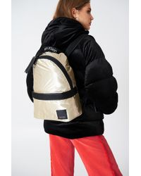 Calvin Klein | Metallic Fluid Backpack | Lyst