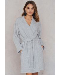 CALVIN KLEIN 205W39NYC - Quilted Robe - Lyst