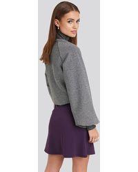 NA-KD High Waist A-line Skirt - Meerkleurig