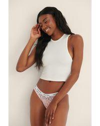 Calvin Klein Carousel Lace Panties - Mehrfarbig