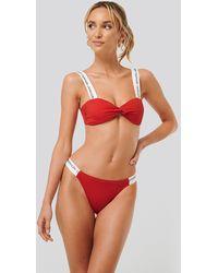 Calvin Klein Bikini-Pantys - Rot
