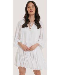 Glamorous Robe Mini - Blanc