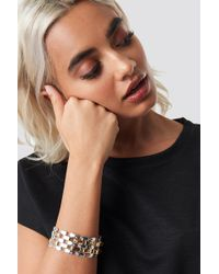 NA-KD - Connected Elements Bracelet Gold/silver - Lyst
