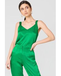 Rut&Circle Ginny Singlet Green