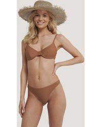 NA-KD - Swimwear Hochgeschnittenes Bikinihöschen - Lyst