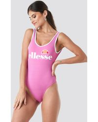 Ellesse - Lily Pink One-piece Swimsuit - Lyst