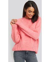 Trendyol - Side Knit Detail Sweater - Lyst