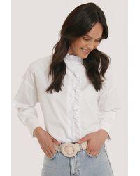 Mango White Bennet Shirt