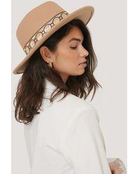 NA-KD Beige Explorer Hat - Natural