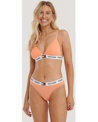 Tommy Hilfiger Orange Bikini Coordinate Cotton Panties - Pink