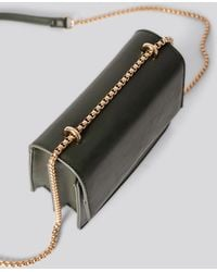 NA-KD Accessories Mini Chain Detail Flap Bag - Grün