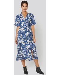 Mango Moon H Dress - Blauw