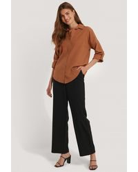Trendyol Brown Tile Shirt