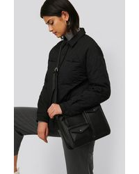 NA-KD Utility Shoulder Bag - Noir