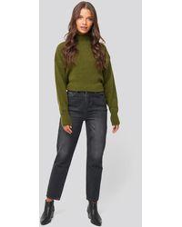 Trendyol Washed High Waist Mom Jeans - Meerkleurig