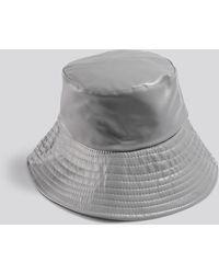 NA-KD PU Bucket Hat - Gris