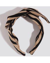 NA-KD Zebra Hair Circlet - Zwart