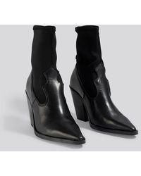Mango Rota Ankle Boots - Zwart