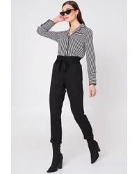 Mango - Soft Cord Trousers - Lyst